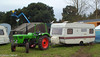 Tabbert Caravan, towed by a Tractor (peterolthof) Tags: neurhede 1011092016 peter olthof peterolthof
