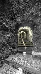 P9186788 (V. Ferragut) Tags: blanco negro color tunel soto piedra paso dalt vila muralla ibiza eivissa ferragut olympus