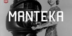 Free Manteka free font (vectorarea) Tags: fonts freefontbest sansserif