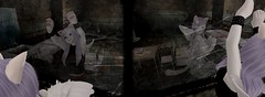 Simulacrum (SerenitySemple) Tags: secondlife furry fashion shirotsuki prettythings kreaokujisawa cubiccherrykreations cubiccherry piero gacha altair toiz barerose ayashi panicofpumpkin salem dollarbie freebie halloween horror silenthill mokyu maitreya anime animehead kawaii