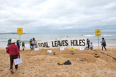 Coal Leaves Coals (lockthegate) Tags: minerehab collaroy nsw coal mines mine rehab