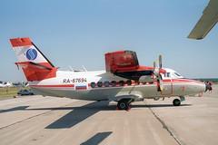 RA-67694 LET L-410UVP-E Turbolet (pslg05896) Tags: zia uubw maks zhukovsky moscow russia ra67694 let l410 turbolet