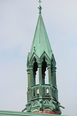 Look out (ElizaJane1971) Tags: architecture steeple cooper tower saginaw michigan