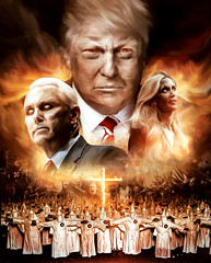 The prophecy of the United States of America (Michel Omar.) Tags: digital digitalart art artedigital artemexicano mxico usa prophecy artwork donaldtrump anncoulter mikepence jiesongzhang thehuffingtonpost united states america elections politicalart political michelomar michelomarberrosp michel omar arte photography painting matte conceptual surreal thelordoftherings