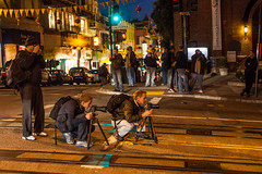 Cold Nights on California Street (Thomas Hawk) Tags: billstorage brandondoran california californiastreet dmuphotowalk01162011 sanfrancisco usa unitedstates unitedstatesofamerica meta fav10