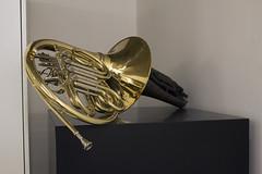 Trompa (Paulo Yukio) Tags: trompa art contempornea arte moderna gold black escultura