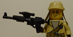 The A-280C Blast Rifle: The Right Arm of the Rebellion! (enigmabadger) Tags: brickarms lego custom minifig minifigure fig weapon weapons accessory accessories combat war scifi sciencefiction star wars rebel rebellion empire imperial original trilogy