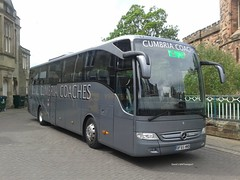 Cumbria Coaches, [BF65HWB] - Carlisle (21/05/16) (David's NWTransport) Tags: cumbriacoaches bf65hwb mercedesbenztourismo mercedesbenz mercedestourismo mercedes tourismo