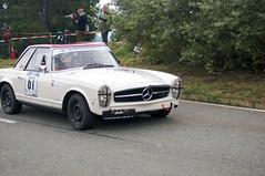 Mercedes 280 SL (1969) (PWeigand) Tags: 2015 bayern berchtesgaden edelweissclassic mercedes280sl1969 oldtimer rosfeldrennen deutschland