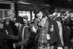 DA14670 (Destinys Agent) Tags: sunset castle water festival river costume cathedral jetty charles rochester performer dickens muscian dickensian