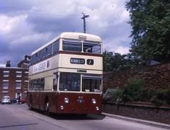 WEV747F (21c101) Tags: 1969 1967 essex colchester busstation 47 leyland massey leylandatlantean pdr11