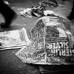 Manchester Evening News (Thomas Leuthard) Tags: street leica white black square photography flickr fuji thomas streetphotography olympus squareformat monochrom omd hcb leuthard iphoneography instagramapp uploaded:by=instagram thomasleuthard