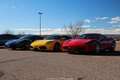 F430 In The Middle (Hunter J. G. Frim Photography) Tags: colorado italia ferrari supercar f430 ferrarif430 458 ferrari458italia