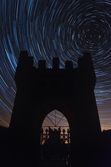 Vartry Tower Star Trails (Edward Wolohan) Tags: ireland star trails reservoir astrophotography astronomy wicklow roundwood vartry