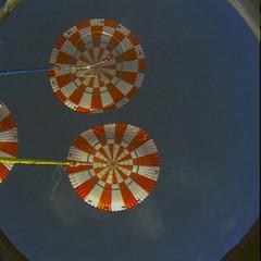 Parachutes deploy