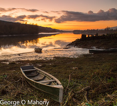 Fiddown Sunset 2 (George O Mahony) Tags: sunset ireland river suir waterford longexposure
