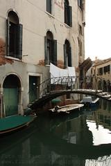 Bridge home @Venezia (PaquiPhotography) Tags: street venice friends people italy white black detail macro art tourism water monochrome canon river photography eos canal san italia colours nort