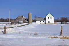 1499 (ontario photo connection) Tags: winter snow ontario barn rural landscape landscapes farm georgianbay farming barns farms manitoulinisland farmstead rurallandscape