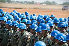UN military personnel are the Blue Helmets on the ground. They are contributed by national armies from across the globe. Learn more about military component of peacekeeping: http://bit.ly/1lPONvR UN Photo/Isaac Alebe, Avoro Lu'uba (United Nations Peacekeeping) Tags: from blue by globe military ground more un national they about component peacekeeping across learn helmets personnel contributed armies avoro photoisaac httpbitly1lponvr luuba alebe