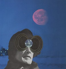 Polar Eyes (owlwise12) Tags: collage paper handmade surreal dreams photomontage psyche nightmares collageaday