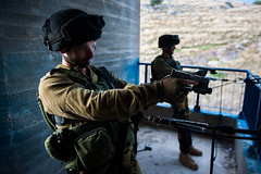 Elite Counter-Terrorism Unit Simulates Terror Attack (Israel Defense Forces) Tags: building army israel action climbing terror guns weaponry idf commando counterterrorism lotar israeldefenseforces militaryexercise