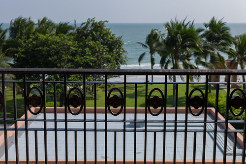 At the balcony, Hua Hin