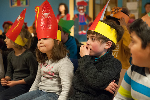 Sinterklaas op school