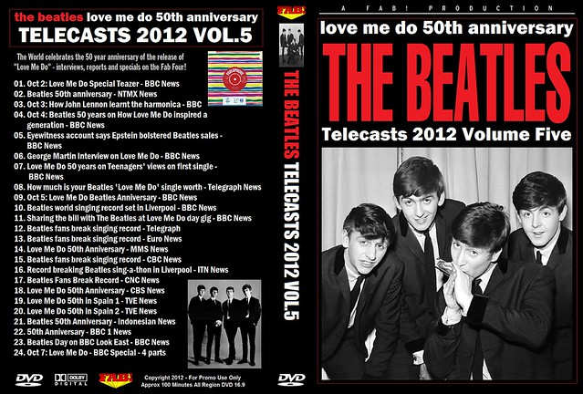 The Beatles Telecasts 2012 Vol 5