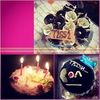 My memorable birthday!! #birthday #cakes #partiiies