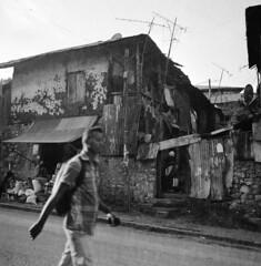 Addis street (Felipe Cárdenas-Támara) Tags: rolleiflexautomat6x6modelk4a rolleiflexjune1951march1954 rolleiflextlr rolleiflex ilfordpanf50plus zeissjenatessar3575 felipecárdenastámara ethiopia etiopía addisabeba felipecardenasphotography