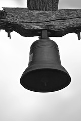Medieval bell (Andrs) Tags: bell chapel catalonia medieval campana catalunya catalua ermita empuries canon100400mm cincclaus lescalagirona