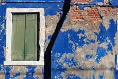 Old (Rana Saltatrice) Tags: old window ancient fireplace colore camino blu finestra azzurro antico burano vecchio scrape mattoni balconi intonaco briks scrostato canon100d