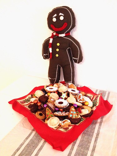 """Gingerbread Man Kissen • <a style=""""font-size:0.8em;"""" href=""""http://www.flickr.com/photos/92578240@N08/16065439662/"""" target=""""_blank"""">View on Flickr</a>"""