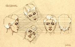 Proyecciones de cabeza. (Yoryeth Bastidas) Tags: silhouette faces projection heads cabezas perfiles rostros proyeccin