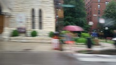 Umbrella Holder (michael.veltman) Tags: from chicago blur umbrella illinois cab a