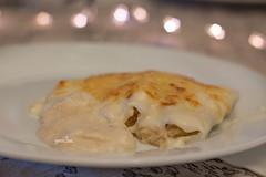 Canelons de Nadal (Eva Garcia Pinos) Tags: christmas food cooking lunch bokeh christmaslights homemade nadal cannelloni canelons