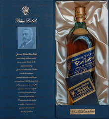 Johnnie Walker Blue Label (westrail) Tags: lens scotland nikon whisky scotch nikkor blend johnniewalker d300 bluelabel afs2870 johnwalkersons