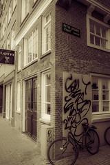 XXX (schorsch_gaggo) Tags: house netherlands amsterdam bicycle xxx gracht