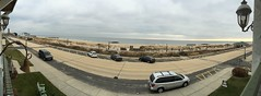 view from the laingdon (scaredsquee) Tags: ocean beach newjersey sand panoramic jerseyshore atlanticocean thebeach panoramicview victorianhotel oceangrovenj asburyparknj thelaingdonhotel