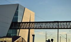 /|/|/|/|/|/|/|/|/|/|/|/| (TheManWhoPlantedTrees) Tags: metal arquitetura architecture footbridge library biblioteca vilafrancadexira arquitecturaportuguesa miguelarruda nikond3100 tmwpt fbricadaspalavras