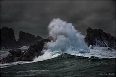 Porspoder - Finistère (jyleroy) Tags: ragingsea europe france bretagne finistère porspoder mer sea océan ocean atlantique canon eos rebel t5i breizh landscape 700d