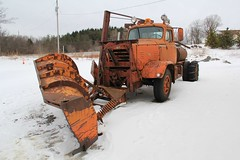 FWD Frankfort Airport (26) (RyanP77) Tags: new york snow wisconsin truck islands clayton upstate plow 1000 fwd snowplow frankfort 285 frink clintonville tractioneer