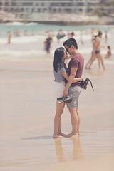 Love birds! (Hamed.Al-Raisi) Tags: love bondi stars fun hug perfect kiss couple sydney australia honey cupid