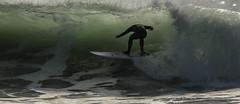 Headless Tube Rider (cetch1) Tags: beach water surf surfer surfing surfboard rodeobeach bigwave waveporn northerncaliforniasurfing