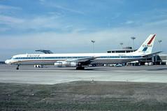 N8087U United DC-8-61 at KCLE (GeorgeM757) Tags: airplane airport friendship aircraft aviation united freighter clevelandhopkins dc8 mcdonnelldouglas kcle dc861 alltypesoftransport classicmcdonnelldouglas georgem757 n8087u