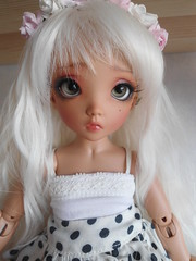 Lunna's new face-up (~Akara~) Tags: face up ball doll skin little tan fairy mio land bjd fl custom fairyland ts fee jointed ltf faceup littlefee