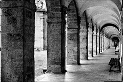 Vieille Charit (vedebe) Tags: bw france architecture port marseille noiretblanc nb provence cloitre netb