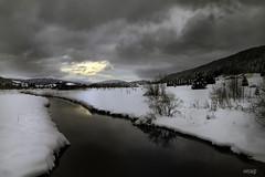 L'Orbe Jura (rolanddumontgirard) Tags: hiver rivire neige orbe hautjura rolanddumontgirard