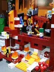 Toy Fair 2015 LEGO Minecraft 12 (IdleHandsBlog) Tags: toys lego videogames buildingsets minecraft toyfair2015