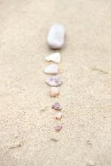 Beginnings and Endings ( Ela ) Tags: sand stones beginningsandendings ascienceapart sharpbeginnings blurryendings